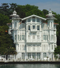 Istanbul Mansions, Mansions in Istanbul